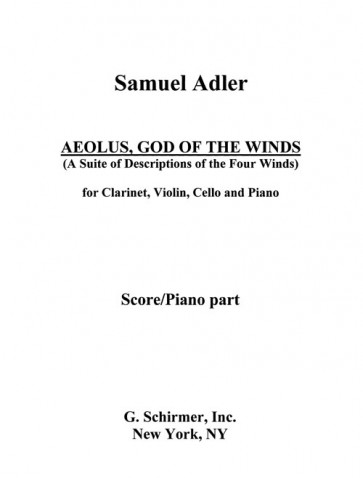 Aeolus, God of the Winds