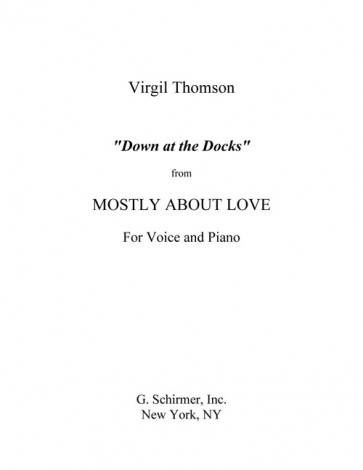 Down at the Docks (from Mostly About Love)