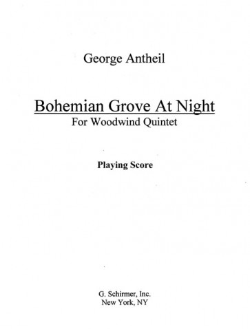 Bohemian Grove at Night