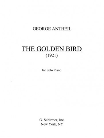 "Golden Bird ""After Brancusi"""