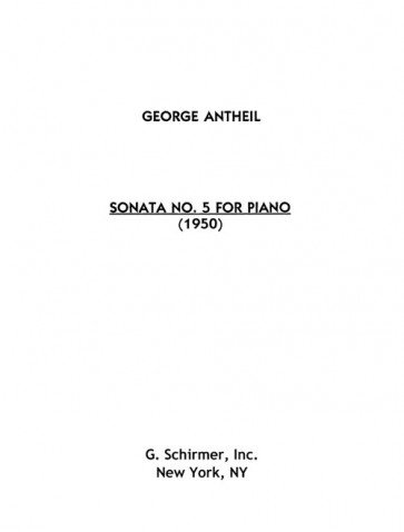 Sonata No. 5 for Piano