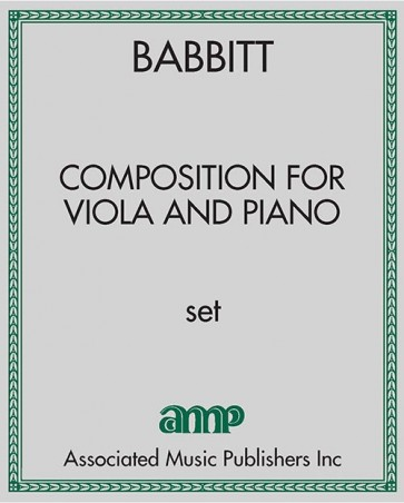 Composition for Viola and Piano
