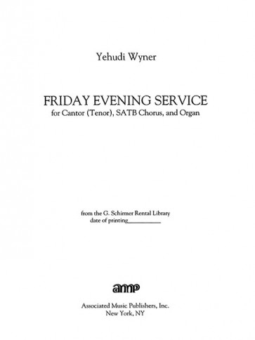 Friday Evening Service