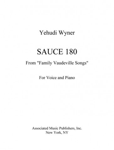 """Sauce 180 (from """"Family Vaudeville Songs"""")"""