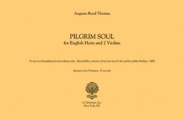 Pilgrim Soul, for 2 violins and English Horn