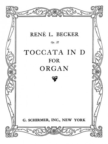 Toccata in D for Organ, op.32