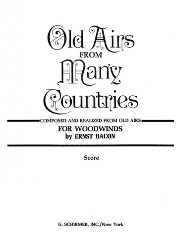 Old Airs from Many Countries