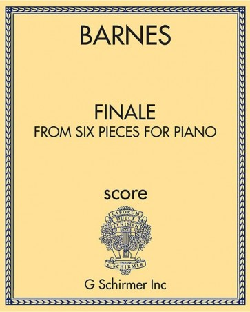 Finale, from Six pieces for piano