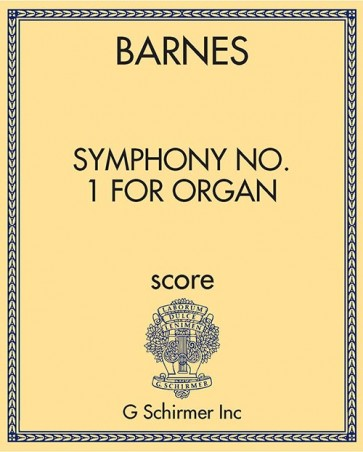Symphony No. 1 for Organ
