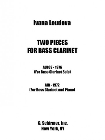 2 Pieces for Bass Clarinet
