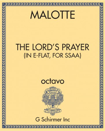 The Lord's Prayer (in E-flat, for SSAA)