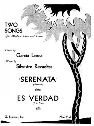 Serenata (Serenade) - from Two Songs for Medium Voice and Piano