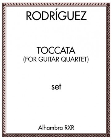 Toccata (for guitar quartet)