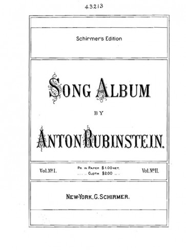 Song Album, Volumes 1 and 2