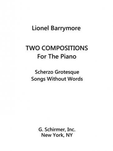 Two Compositions for Piano