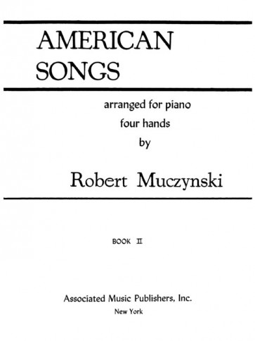 American Songs, Book 2, for piano/4 hands