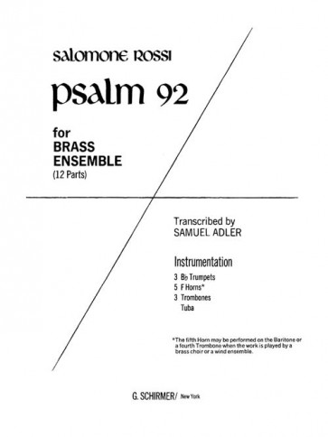 Psalm 92 (for brass ensemble)