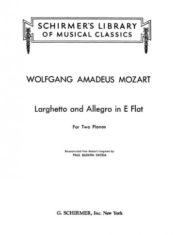 Larghetto and Allegro in E flat