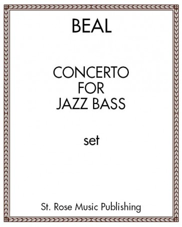 Concerto for Jazz Bass - piano reduction
