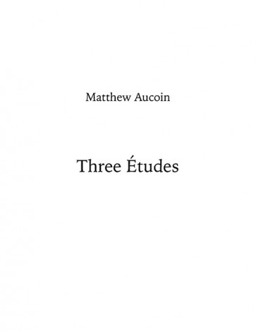 Three Études