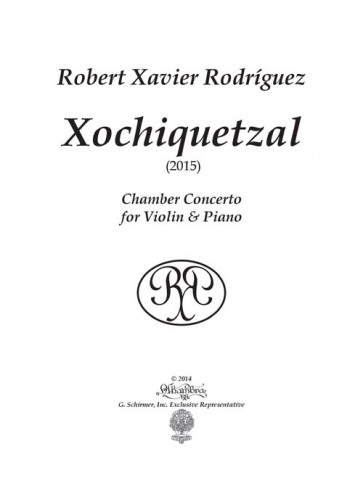Xochiquetzal (for violin and piano)