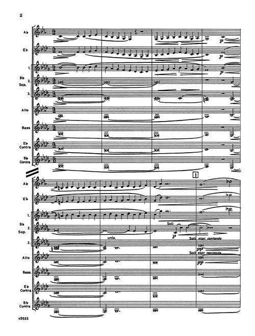 Samuel Barber: Adagio for Strings, for clarinet choir (arr  Cailliet)