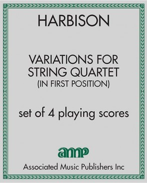 Variations for String Quartet (in First Position)