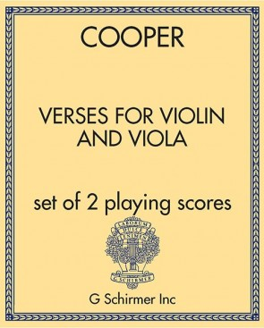 Verses for Violin and Viola