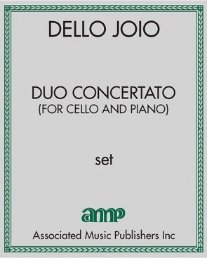 Duo Concertato (for cello and piano)