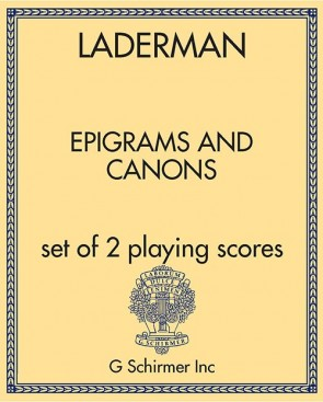 Epigrams and Canons