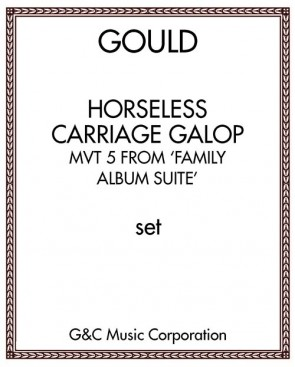 Horseless Carriage Galop: mvt 5 from 'Family Album Suite'