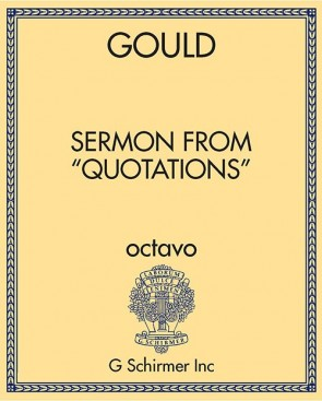 "Sermon from ""Quotations"""