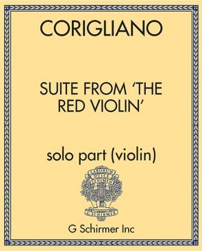 Suite from 'The Red Violin' - for Violin, Timpani, Percussion, Harp & Strings