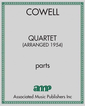 Quartet (arrangement of Quartet for Flute, Oboe, Cello and Harpsichord, 1954)
