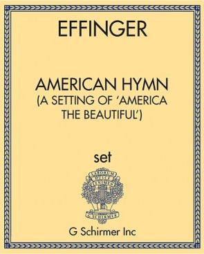 American Hymn - (A Setting of 'America the Beautiful')
