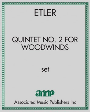 Quintet No. 2 for Woodwinds