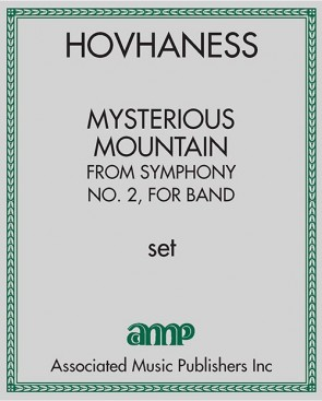 Mysterious Mountain, from Symphony No. 2, for band