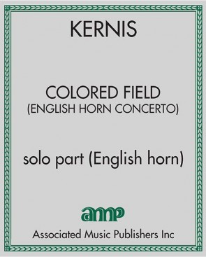 Colored Field (English Horn Concerto)
