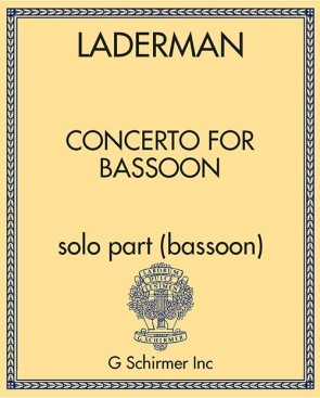 Concerto for Bassoon - solo part (bassoon)