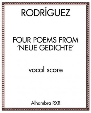 Four Poems from 'Neue Gedichte'
