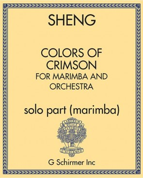 Colors of Crimson, for Marimba and Orchestra