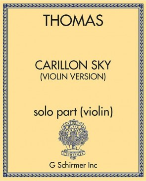 Carillon Sky (violin version) - solo part (violin)