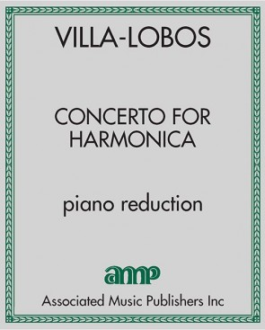 Concerto for Harmonica - piano reduction