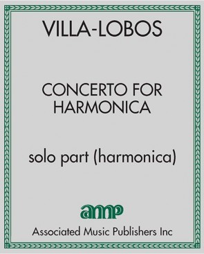 Concerto for Harmonica - solo part (harmonica)