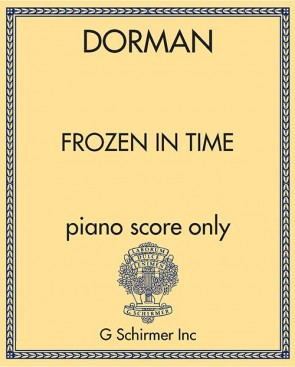 Frozen in Time - piano score only