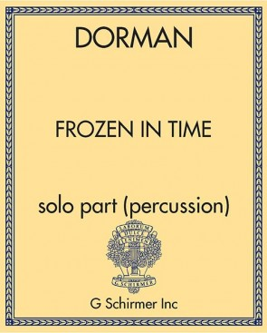 Frozen in Time - solo part (percussion)