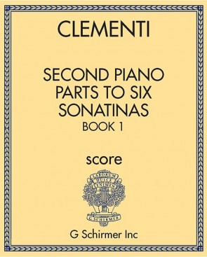 Second Piano Parts to Six Sonatinas, Book 1