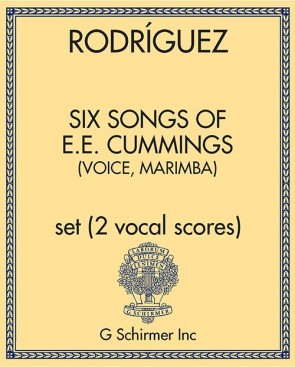 Six Songs of E.E. Cummings (voice, marimba)