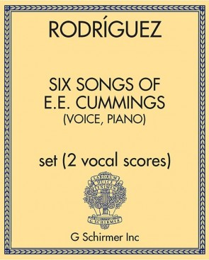 Six Songs of E.E. Cummings (voice, piano)