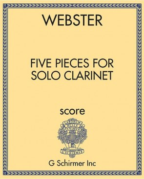 Five Pieces for Solo Clarinet